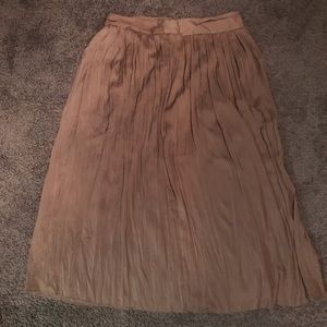 Chico's maxi pleated skirt